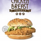 Chicken Breast Burger for Supermacs  - Food Advertising Photography © David Cantwell Photography