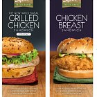 Chicken Breast Sandwich  - Food Advertising Photography © David Cantwell Photography