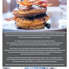 Bon Appetit Brunch Advert  - Food Advertising Photography © David Cantwell Photography