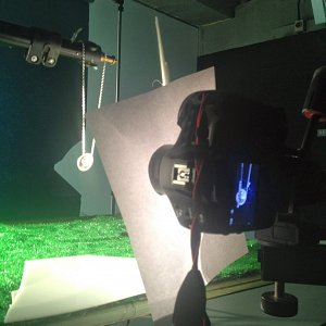 Final Step Star effect, shows camera and lighting setup