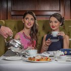 Ladies Having Afternoon Tea - Food Lifestyle Photography © David Cantwell Photography