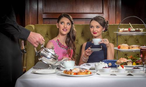 Ladies That Lunch Afternoon Tea Shot in The Brasserie @ Castetroy Park Hotel © David Cantwell Photography