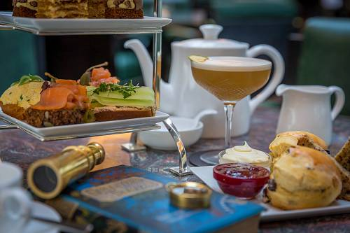 Lemuel's Afternoon Tea @ The Conrad Hotel Dublin © David Cantwell Photography