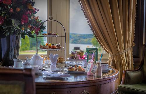 Alice In Wonderland Afternoon Tea In the Drawing Room @ Kilronan Castle Hotel © David Cantwell Photography