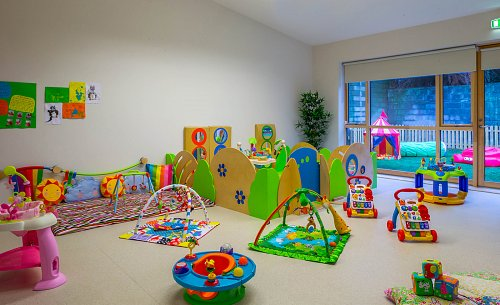 Baby Room @ Fonthill Lodge Creche © David Cantwell Photography