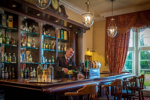 The Bar @ Lough Rynn Castle Hotel © David Cantwell Photography