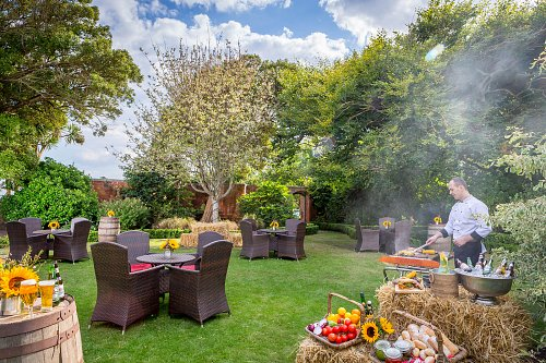 The Secret Garden - Staged for Summer BBQ @ The Portmarnock Hotel © David Cantwell Photography