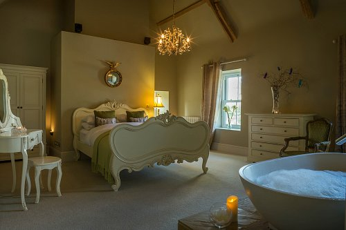 B&B Bedroom with Bath - Interiors Photographer © David Cantwell Photography