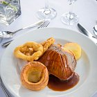 Beef & Yorkshire Puddings Meal - Food Photography © David Cantwell Photography