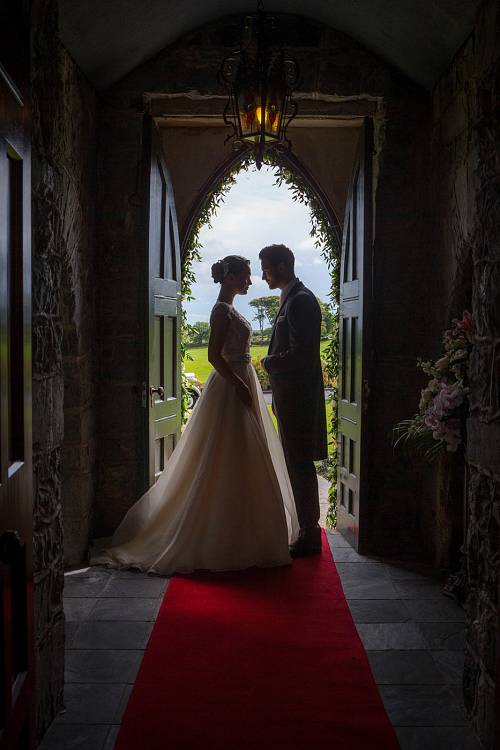 Bride & Groom @ Glenlo Abbey Hotel © David Cantwell Photography