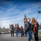 Tourists Taking a Selfie @ Big Ben London for Dalata Brand - Lifestyle Photography © David Cantwell Photography