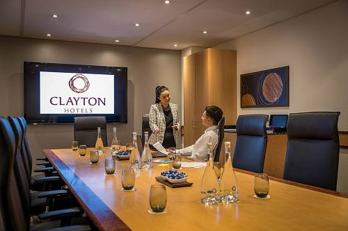 Boardroom Meeting Room @ Clayton Hotel Leopardstown - Hotels Photographer © David Cantwell Photography