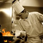Chef Cooking Food - Food Lifestyle Photography © David Cantwell Photography