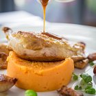 Chicken & Mash Sweet Potatoes Meal - Food Photography © David Cantwell Photography