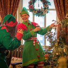 Christmas Elves @ Christmas Tree  - Seasonal Commercial Photography © David Cantwell Photography