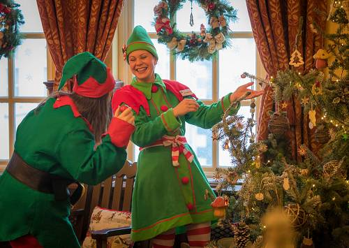 Christmas Elves @ The Slieve Russell Hotel © David Cantwell Photography