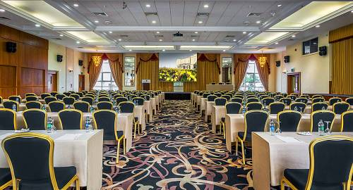 Classroom Style Meeting Room @ The Grand Hotel  - Hotels Photographer © David Cantwell Photography