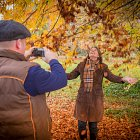 Couple in the Woods @ Autumn  - Seasonal Commercial Photography © David Cantwell Photography