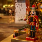 Toy Soldioer Toy @ Christmas Tree in Hotel Lobby  - Seasonal Commercial Photography © David Cantwell Photography