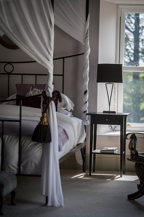B&B Four Poster Bed - Interiors Photographer © David Cantwell Photography