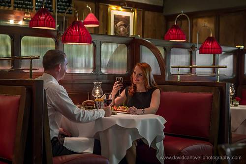 Couple in The Bistro @ Newpark Hotel © David Cantwell Photography