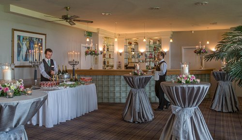 Wedding Breakout Area @ Glenlo Hotel © David Cantwell Photography