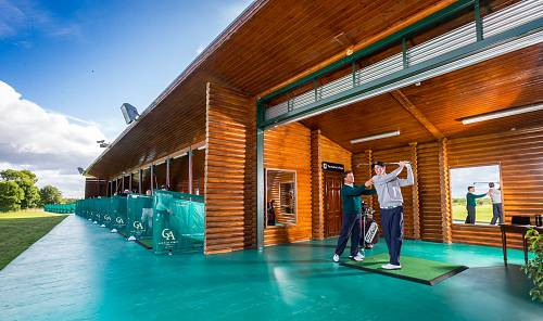 Glenlo Abbey Hotel Golf Driving Range © David Cantwell Photography