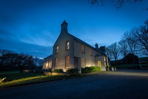 B&B Night Time Exterior - Interiors Photographer © David Cantwell Photography