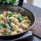 Pasta and Salmon - Food Photography © David Cantwell Photography