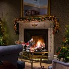 Christmas By Hotel Fireside  - Seasonal Commercial Photography © David Cantwell Photography