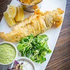 Battered Fish & Chips - Food Photography © David Cantwell Photography