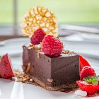 Chocolate Cheese Cake - Food Photography © David Cantwell Photography
