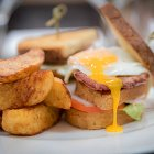 Breakfast Club Sandwich - Food Photography © David Cantwell Photography