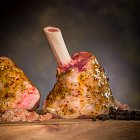 Raw Lamb Shanks & Sauce for Kerrigans Butchers - Food Photography © David Cantwell Photography