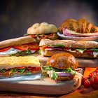 Selection of Sandwiches  - Food Photography © David Cantwell Photography