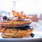 Savoury Breakfast Pancakes - Food Photography © David Cantwell Photography
