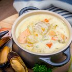 Seafood Chowder - Seafood Food Photography © David Cantwell Photography