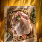 Raw Whole Chicken  - Food Photography © David Cantwell Photography