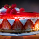 Fraisier Cake / Strawberry Cake Confectionery - Food Photography © David Cantwell Photography