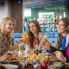 Ladies Enjoying a Meal and Drinks - Food & Drink Lifestyle Photography © David Cantwell Photography