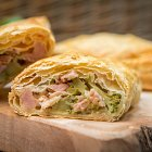 Ham & Broccoli Pastry Lunch  - Food Photography © David Cantwell Photography