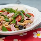 Ham & Penne Pasta Salad - Food Photography © David Cantwell Photography