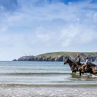 Horse Riding at the Sea - Landscape Photography © David Cantwell Photography