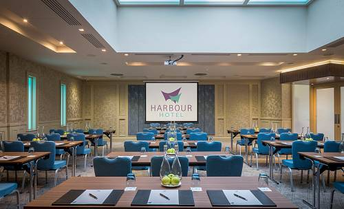 Classroom Meeting Room @ The Harbour Hotel Galway - Hotel Photographer © David Cantwell Photography
