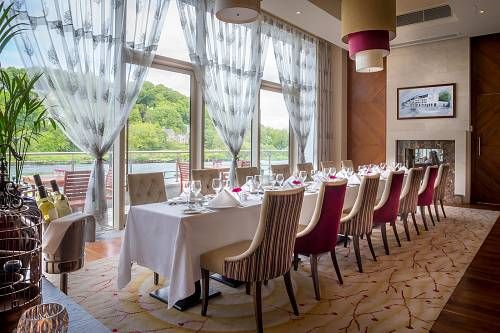 Private Dining @ The Kingsley Hotel - Interiors Photographer © David Cantwell Photography