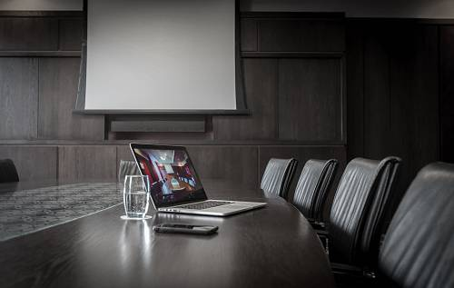 Boardroom Table in Meeting Room @ Carlton Hotel Blanchardstown - Hotels Photographer © David Cantwell Photography