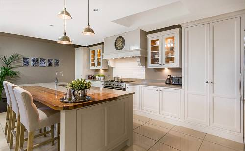 Grey Kitchen - Interiors Photographer © David Cantwell Photography