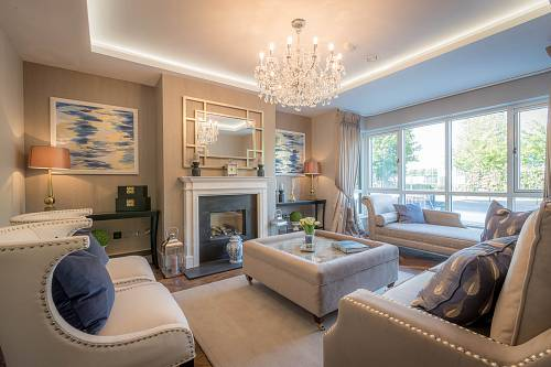 Residential Property Sitting Room - Interiors Photographer © David Cantwell Photography