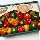 Keelings Peppers Packshot - Food Photography © David Cantwell Photography