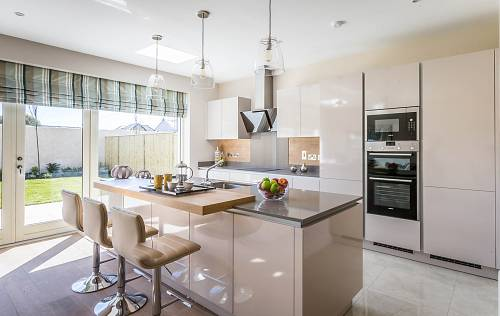 Residential Property Kitchen - Interiors Photographer © David Cantwell Photography